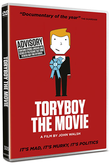 Tory Boy DVD Packaging